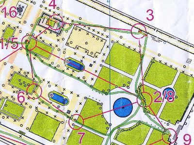 Course d\'orientation dans le jardin des Tuileries à Paris - Raid Runners